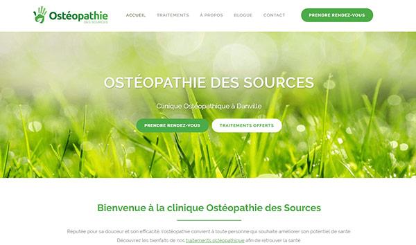 Conception site web Danville